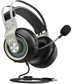 Mpow EG3 Gaming Headset Stereo USB Headset with Noise Cancel