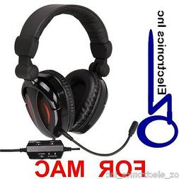 EXTRA BASS Gaming Headset for MAC game sound & chat 2.1  Ste