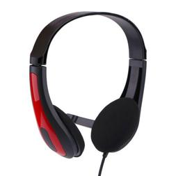 Wired Earphone with Microphone Accessories Over Ear Gaming H