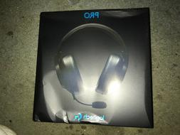 Logitech - G PRO Wired Surround Sound Gaming Headset for PC,