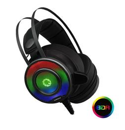 Game Max G200 7 Colour RGB LED Gaming Headset and Mic, USB a