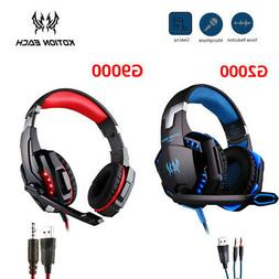 G200/G9000 Stereo Bass Surround Gaming Headset for PS4 Xbox