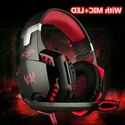 G2000 Stereo Bass Gaming Headset for Xbox One PS4 Switch PC