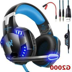 G2000 Stereo Bass Surround Gaming Headsets for PS4 Xbox One