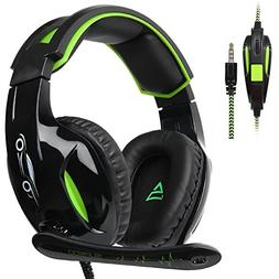 SUPSOO G813 New Xbox one Gaming Headset, Wired 3.5mm Stereo
