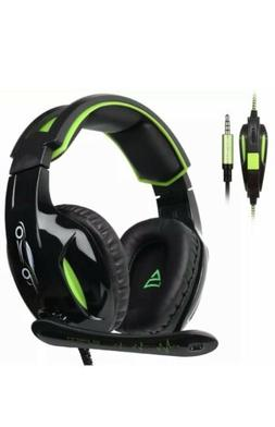 SUPSOO G813 Xbox One, PS4 Gaming Headset 3.5mm wired Over-ea