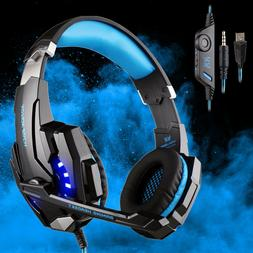 EACH G9000 Gaming Headsets 3.5mm Headphones Earphone for PS4