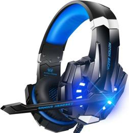 HelloPower G9000 Stereo Gaming Headset with Mic, LED Light,