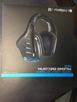 Logitech G933 Artemis Spectrum Wireless Gaming Headset - Bla
