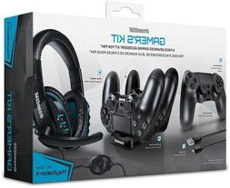 dreamGEAR – Gamer's Kit– includes charge dock/sync cab