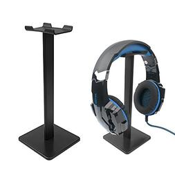 Gaming Headphone Stand with Aluminum Supporting Bar Flexible