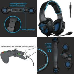 Gaming Headphones For PS4 Pro Xbox One S PC Stereo Headset O