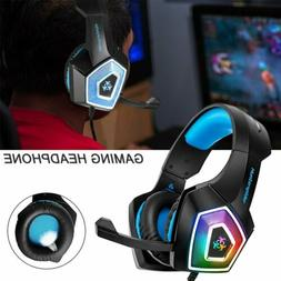 gaming headphones headset mic stereo noise cancelling
