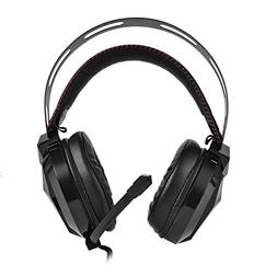 fosa Gaming Headphones with Microphone, Stereo Sound Overhea