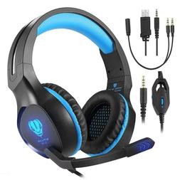gaming headset 3 5mm stereo over ear
