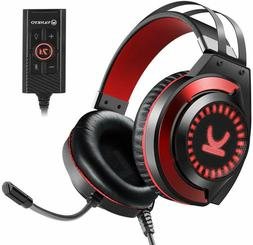Gaming Headset  7.1 Surround Sound Stereo Headphones with No