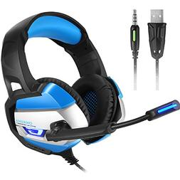 Onikuma PC Gaming Headset for PS4 New Xbox One 3.5mm Wired O