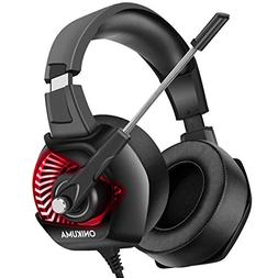 ONIKUMA Gaming Headset for PC, PS4, Xbox One, Stereo Gaming