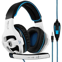 Gaming Headset Xbox One, SADES SA810S Stereo Over-Ear Noise