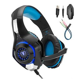 Mengshen Gaming Headset Compatible with PC/Laptop/ Smartphon