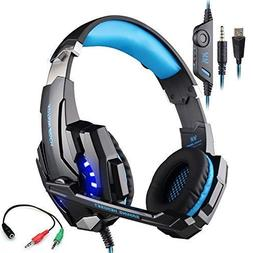 Gaming Headset for Playstation 4 Tablet PC Mobilephones iPho