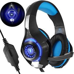 Gaming Headset for PS4 Xbox One PC, Beexcellent 2017 New Noi