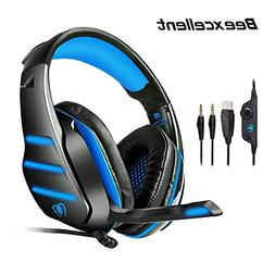 Gaming Headset for PS4 Xbox One PC Beexcellent GM-3 Gaming H