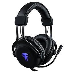 Gaming Headset with Mic,Noise Cancellation Surround Sound Ov