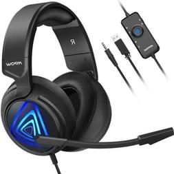 Mpow Gaming Headset , with Bass Boost Surround Sound,...