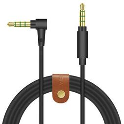 Geekria Gaming headset cord extension for Turtle Beach Talkb