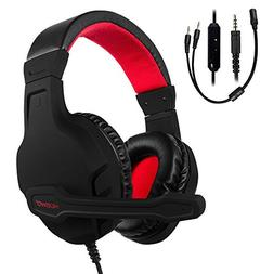 NUBWO Gaming Headset, Xbox One PS4 Headset, Noise Cancelling