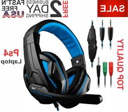 Gaming Headset DLAND Volume Control Mic Wired Bass Stereo He