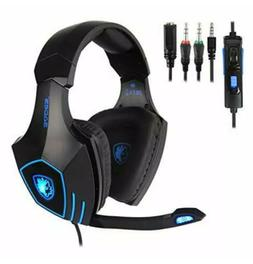 SADES Gaming Headset for New Xbox One, PS4, PC, Noise Reduct