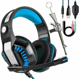 Beexcellent Gaming Headset for PC PS4 Xbox One with Mic. Ove