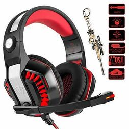 Beexcellent Gaming Headset for PC PS4 Xbox One with Mic Over