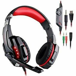 Accessories Gaming Headset Compatible Playstation 4 PS4 Tabl