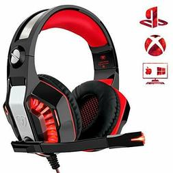 Beexcellent Gaming Headset for PS4 PC Xbox One, Over Ear Gam