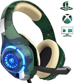 Beexcellent Gaming Headset for PS4 PC Xbox One, Stereo PS4 G