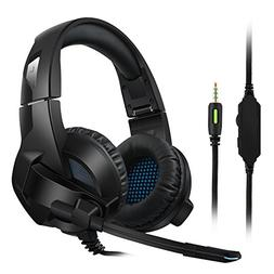 Amicool Gaming Headset for PS4, PC, Xbox One Controller, Noi