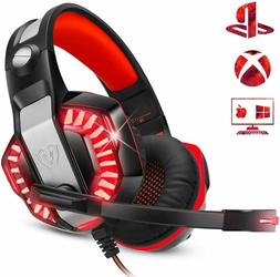 ENVEL Gaming Headset for PS4 with Mic,PC,Xbox One,Laptop,Sur