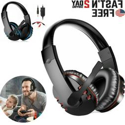 Gaming Headset for PS4 Xbox One Laptop with Mic Headphone Ba