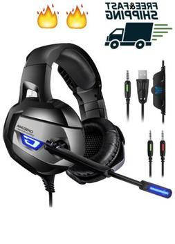 ONIKUMA Gaming Headset - Headphone for PS4, Xbox One ,...