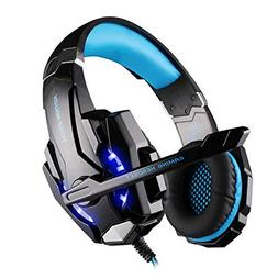 GCCLCF 3.5mm Gaming Headset Microphone USB Single Hole Heads