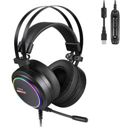 AUKEY Gaming Headset Noise Isolating & Volume Control
