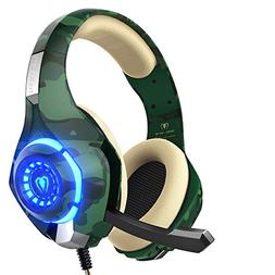 Beexcellent Gaming Headset PS4 Xbox One Compatible Noise Can