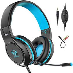 Pobon Gaming Headset for Xbox One/PS4/Nintendo Switch/Mac/PC
