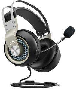 Mpow Gaming Headset Stereo USB Headset with Noise Cancelling
