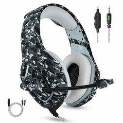 Gaming Headset Surround Sound Stereo Volume Control And One