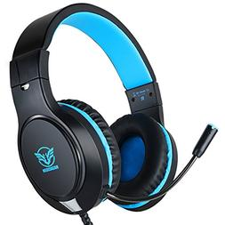 Gaming Headset for Xbox One, PS4,Nintendo Switch, Bass Surro