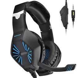 PECHAM Gaming Headset with Mic for Xbox One, PS4,Nintendo Sw